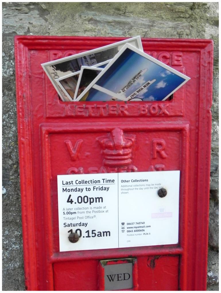 Oudste postkantoortje van Engeland, met name in Tintagel, Cornwall.
